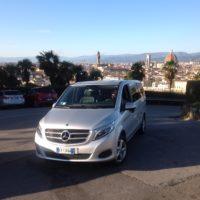 Услуги трансфера на Mercedes V