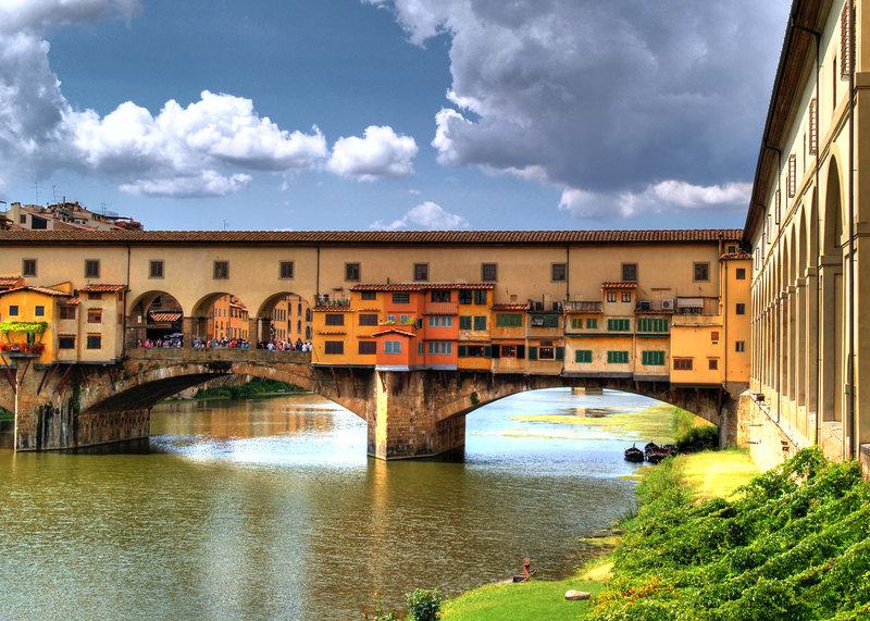 Понте-Веккьо, мост Флоренция