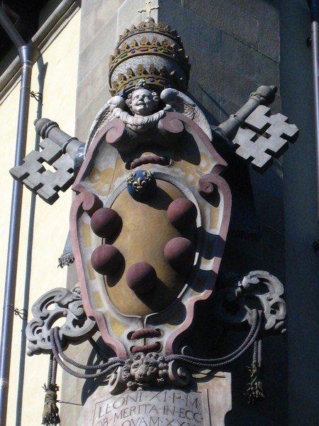 Италия, герб Ме́дичи