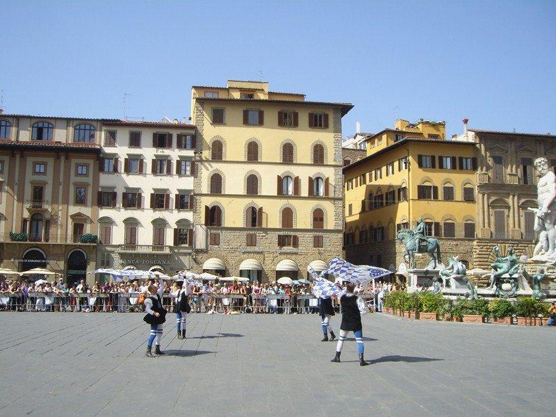 Площадь Синьории, туризм, отдых