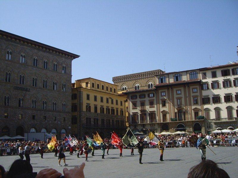 исторические места Италия, Площадь Синьории
