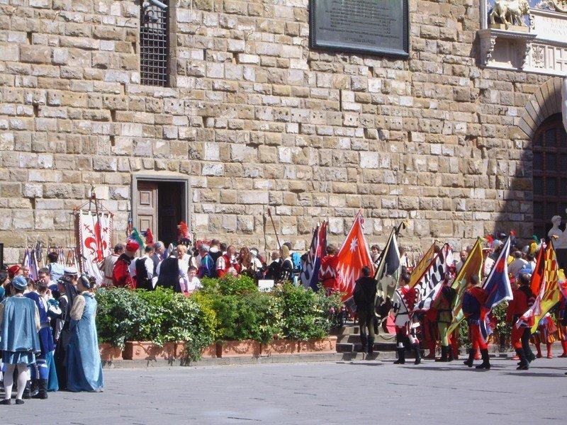 Флоренция, Площадь Синьории
