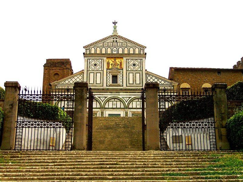Базилика «святой Миний что на горе», Италия