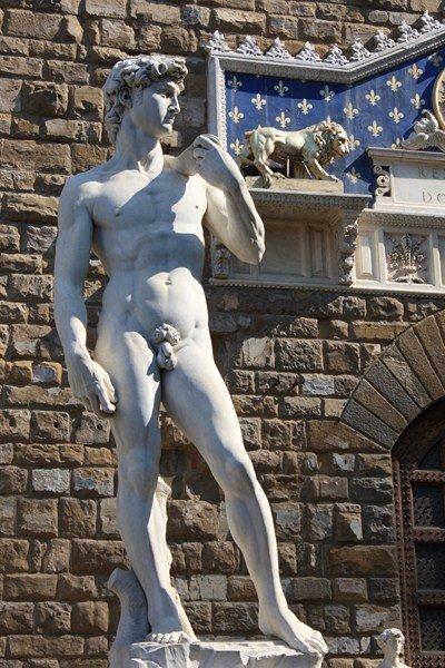 Площадь Синьории, культура, скульптуры