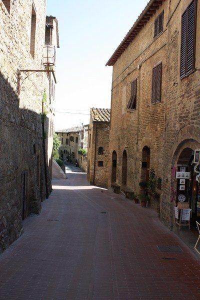 Тоскана, улицы, экскурсии