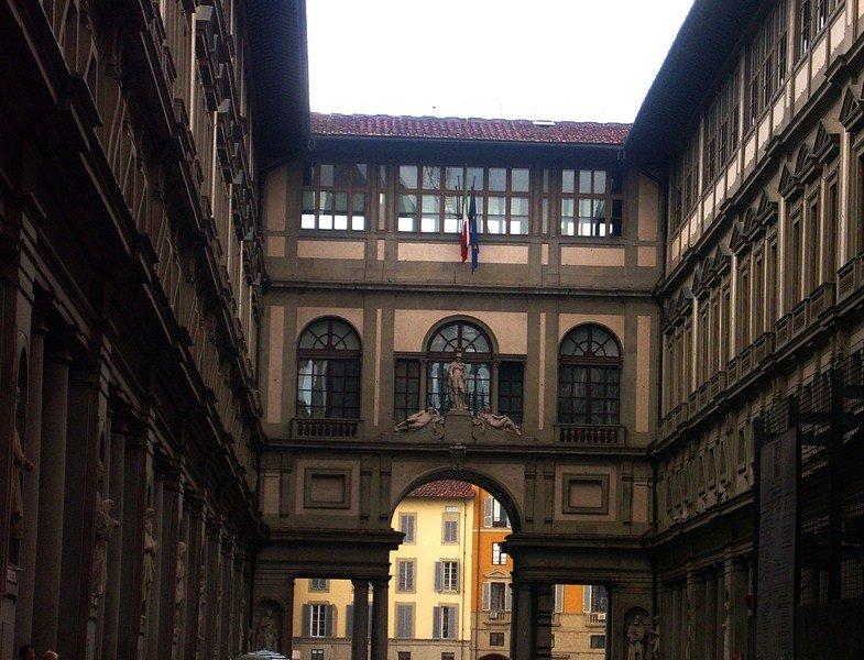 Флоренция, Галере́я Уффи́ци