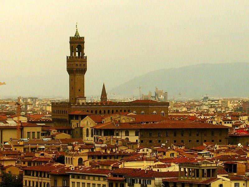 Площадь Микеланджело, Флоренция достопримечательности