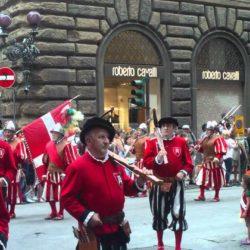 исторический футбол,во Флоренции