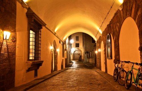 флоренция ночью