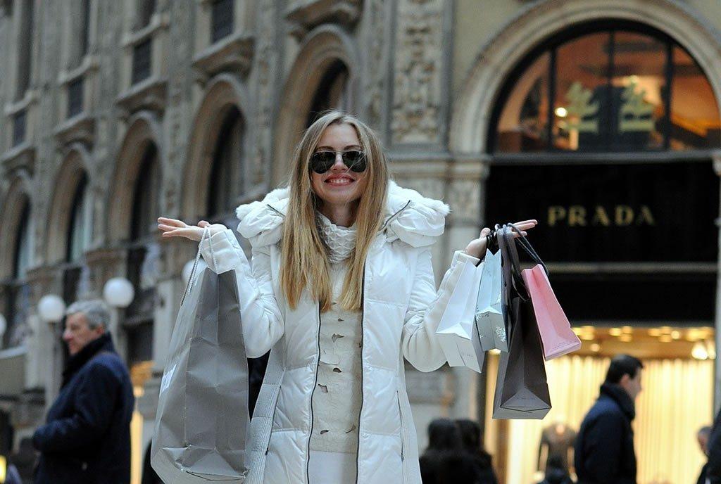 шопинг в италии