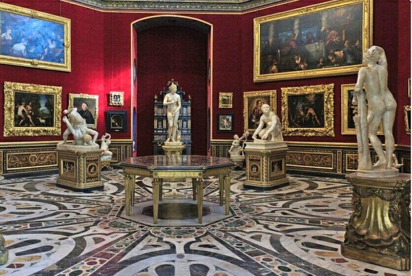 уффици галерея флоренция
