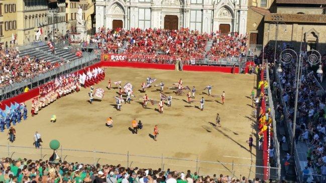 исторический футбол, флоренция