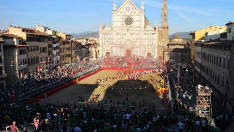исторический футбол в Италии