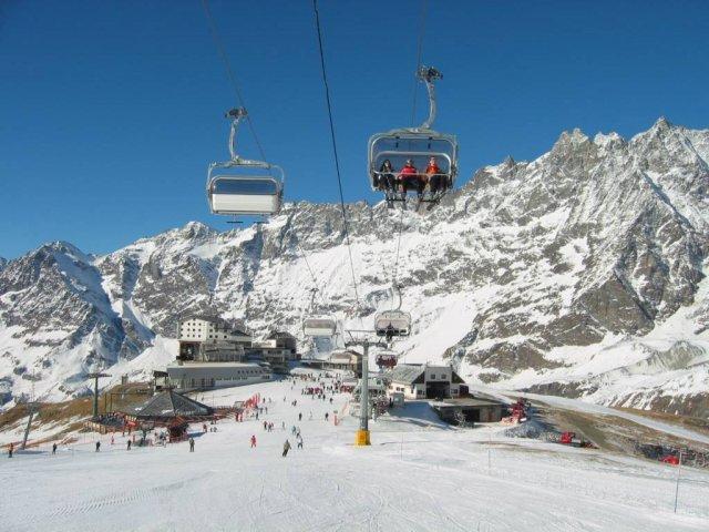 италия горные лыжи