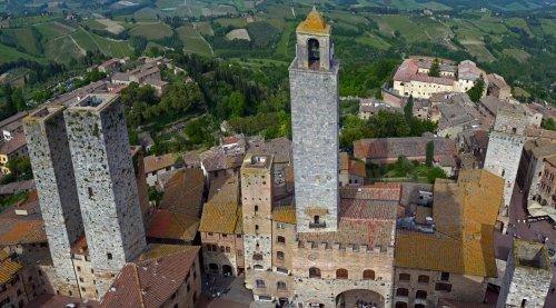 башня экскурсии по Тоскане