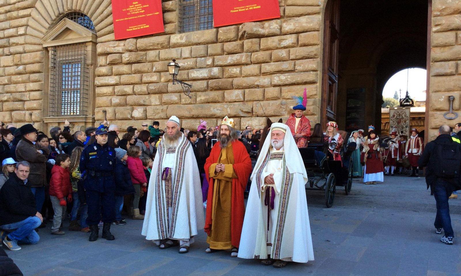 Новогодний праздник «Бефана» во Флоренции