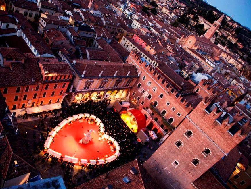 Флоренция: Ярмарка шоколада и день Святого Валентина