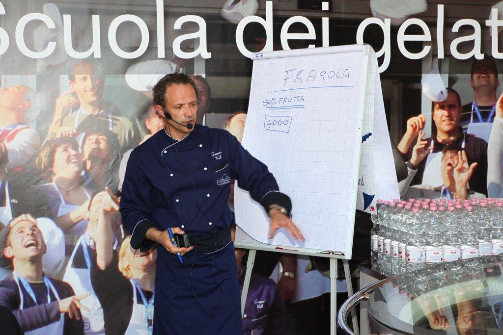 Фестиваль мороженого во Флоренции