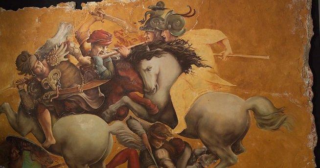Леонардо да Винчи фреска