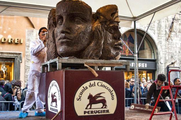 перуджа фестиваль шоколада