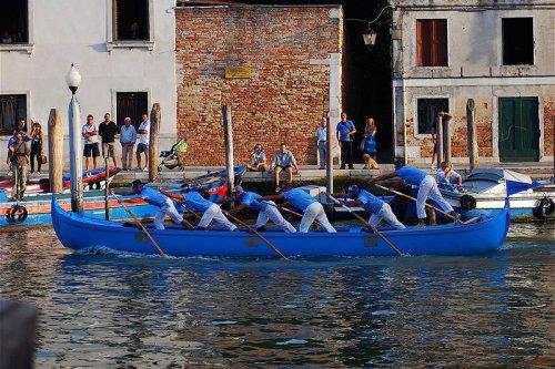 регата в италии венеция